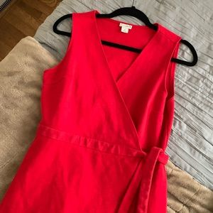 J Crew factory wrap dress